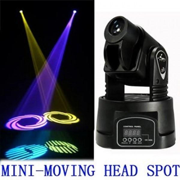 Proiector Moveled Led Mini Moving Head