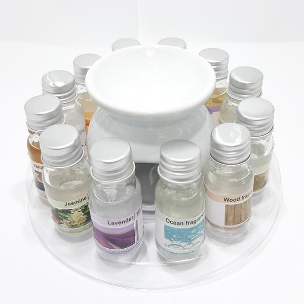 Set 12 sticlute ulei parfumat aromaterapie