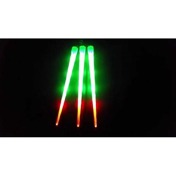 Set 3 Turturi Luminosi de Craciun 50cm