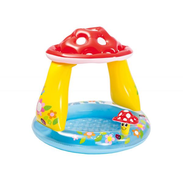 Piscina gonflabila ciuperca pentru copii