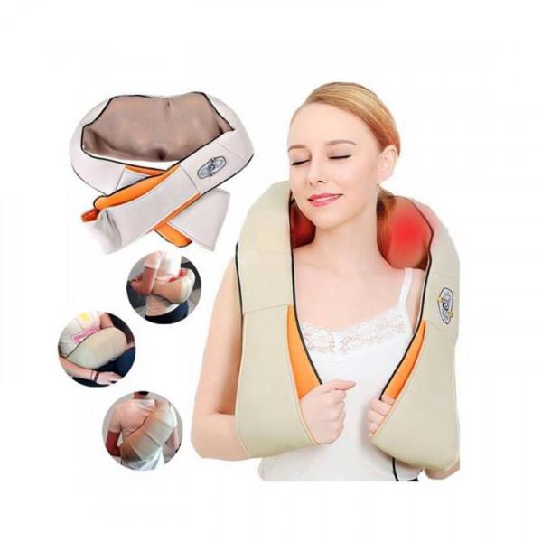 Aparat pentru masaj cu infrarosu pentru zona cervicala si spate