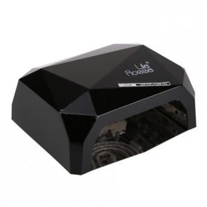Lampa CCFL/LED LILA ROSSA DIAMOND 36W negru