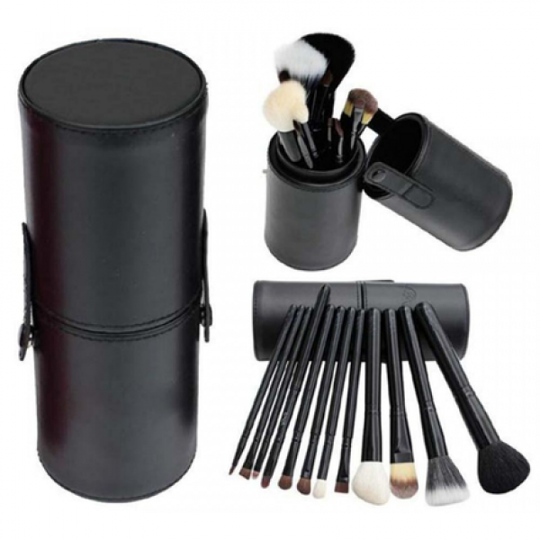 Pensule make up 12 buc Lilla Rossa