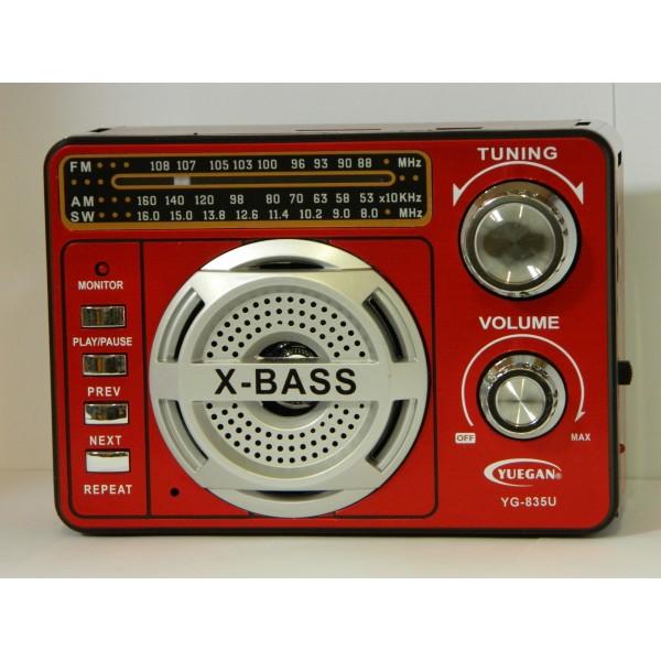 Radio portabil YUEGAN YG-835U
