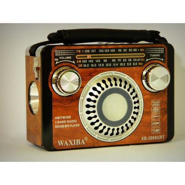 Radio portabil WAXIBA XB-3069URT