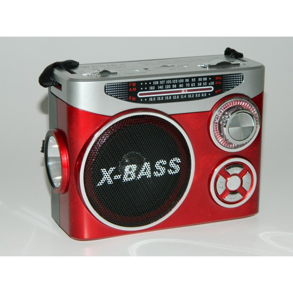 Radio cu lanterna si MP3 player WAXIBA XB-231URT
