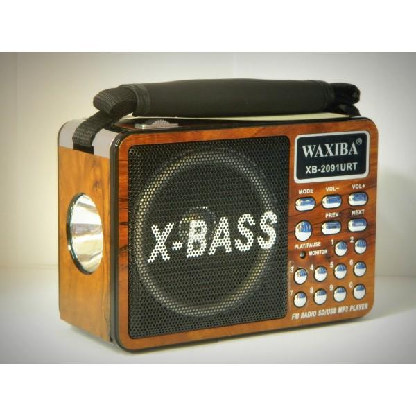 Mini radio portabil Waxiba XB2091URT