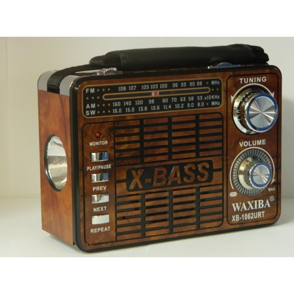 Radio MP3/USB/SD WAXIBA XB-1062URT