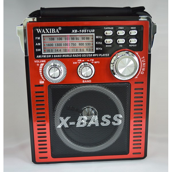 Radio MP3/USB/SD WAXIBA XB-1051UR WORLD RECEIVER