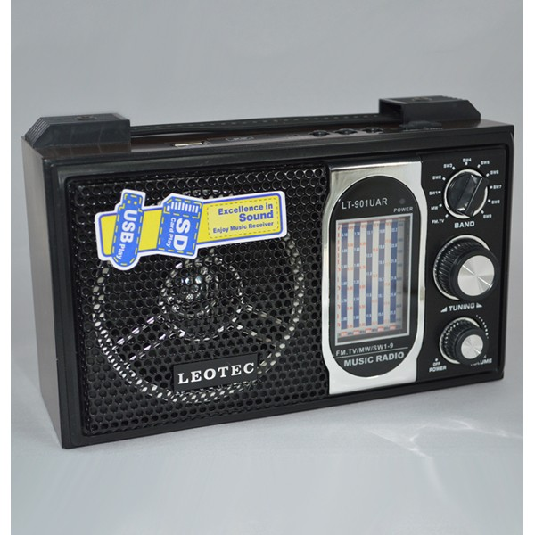 Radio MP3 portabil Leotec LT-901UAR