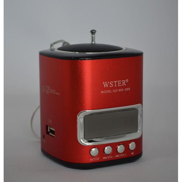Mini speaker portabil Wster WS-259