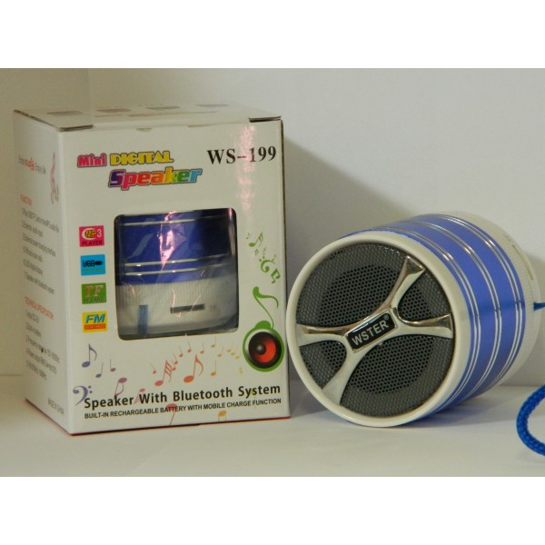 Bluetooth Radio MP3 Mini boxa portabila Wster WS-199