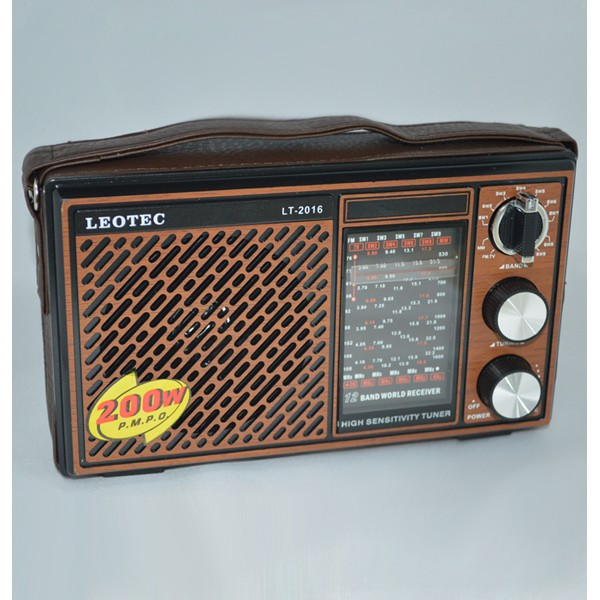 Radio portabil Leotec LT-2015 WORLD RECEIVER