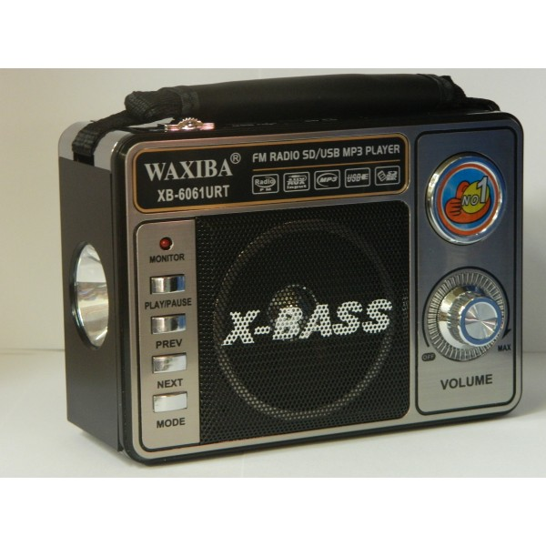 Radio Waxiba MP3 XB6061URT