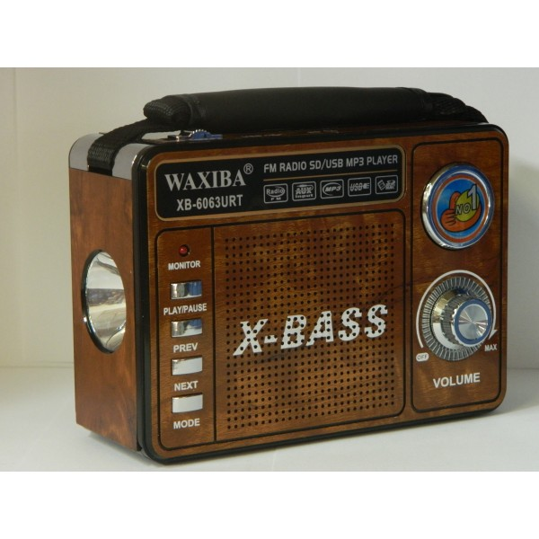 Radio portabil cu MP3 player WAXIBA XB-6063URT
