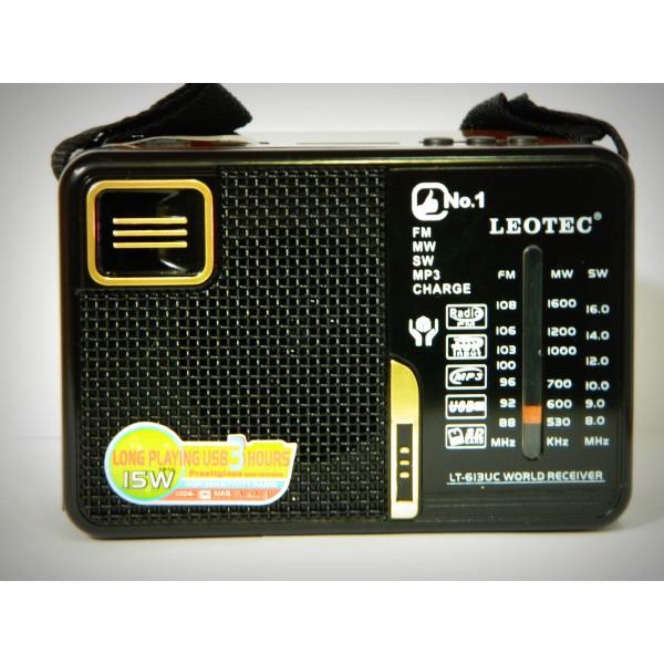 Radio FM LEOTEC LT-613UC