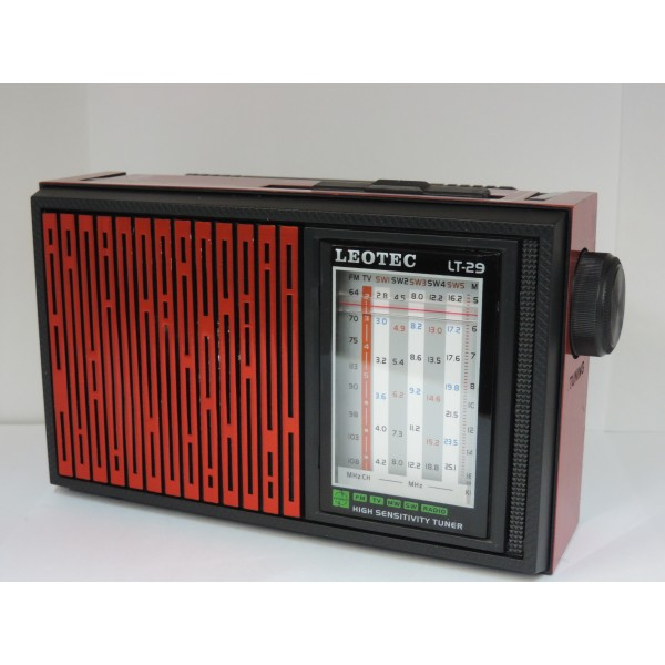 Radio portabil Leotec LT-29 WORLD RECEIVER