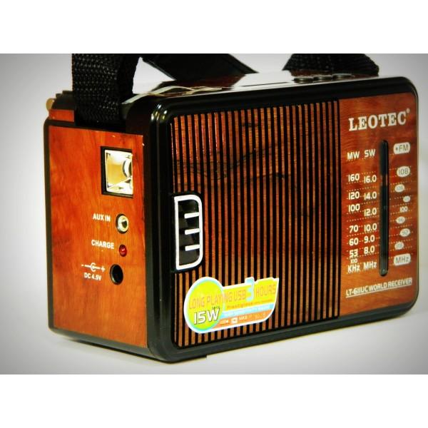 Radio MP3 portabil Leotec LT-611UC