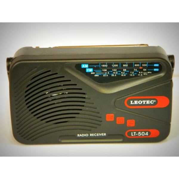 Radio portabil LEOTEC LT-504