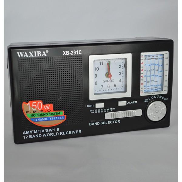 Mini radio portabil cu ceas Waxiba XB-291C