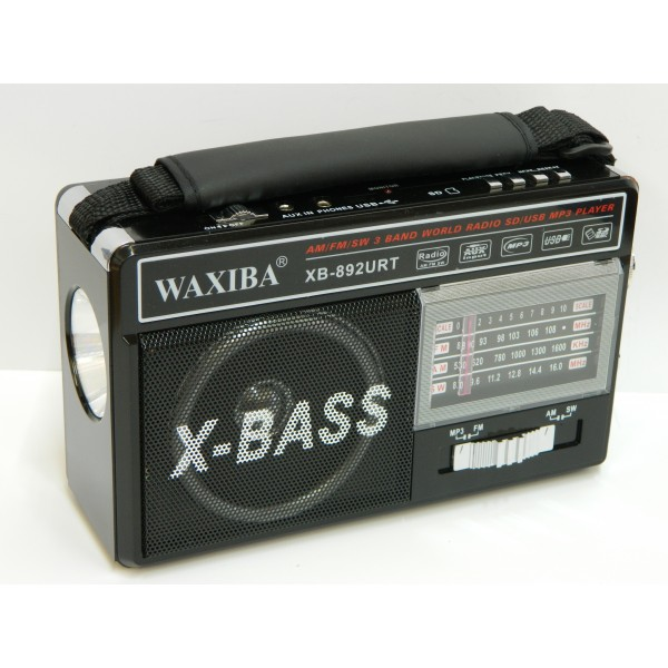 Radio MP3/USB/SD WAXIBA XB-892URT