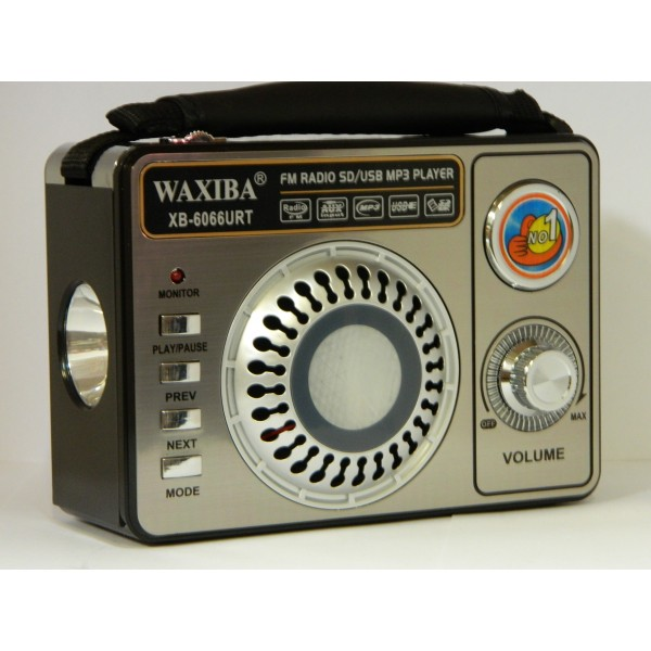 Radio portabil WORLD RECEIVER WAXIBA XB-6066URT