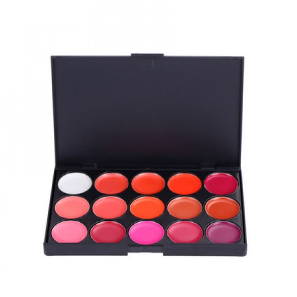 Trusa make up ruj 15 culori