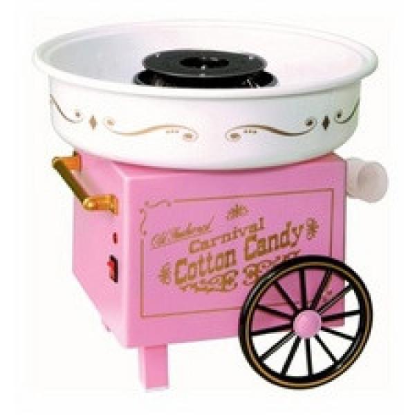 Aparat roz de facut vata de zahar