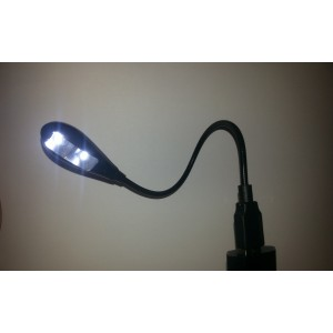 Lampa laptop cu USB si LED