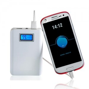 Baterie Externa Power Bank 12000 mAh cu ecran