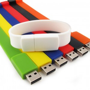 Bratara de silicon cu Stick USB 4 Gb