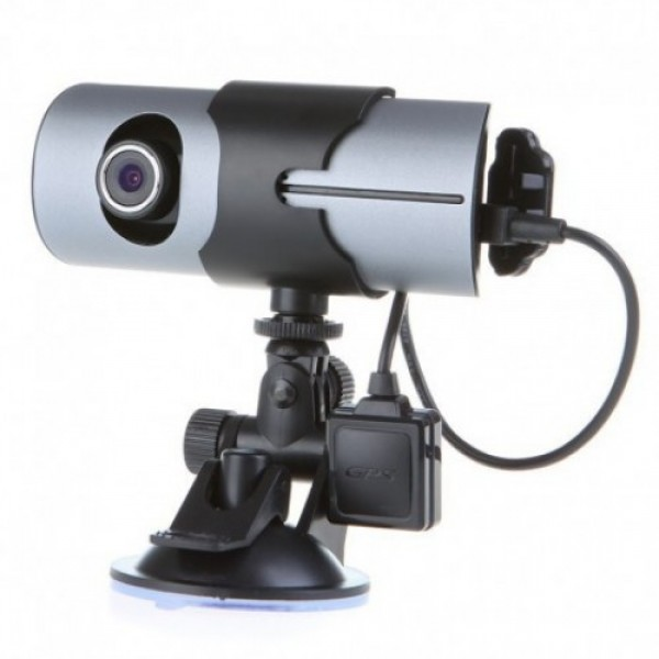 Camera Video DVR Auto R300 HD cu GPS