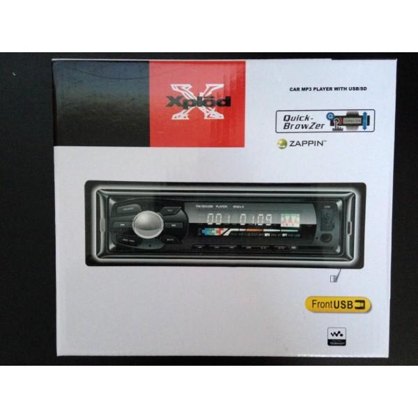 Casetofon MP3 auto XPLOD