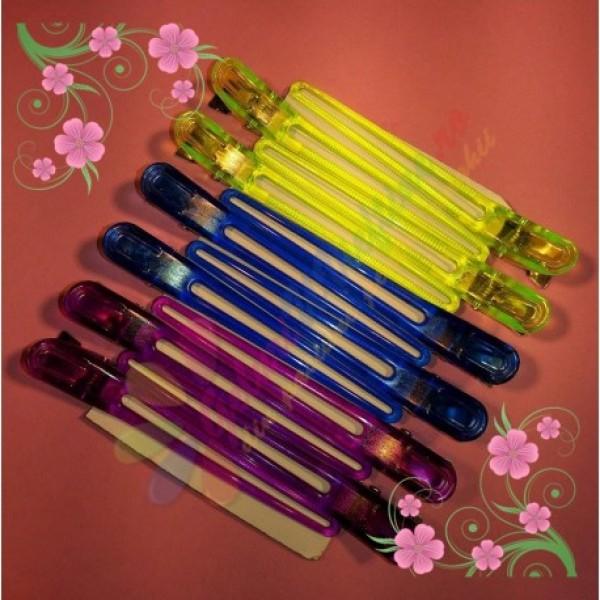 Clipsuri colorate pentru par