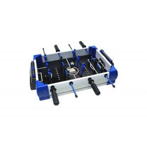 Masa jocuri 5 in 1, foosball, air-hokey, ping-pong, mini basket, mini bowling, 30x43x25 cm