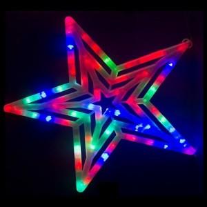 Decoratiune Luminoasa de Craciun Stea cu Led-uri