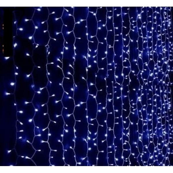 Instalatie perdea 340 LED-uri cu 6x1 m