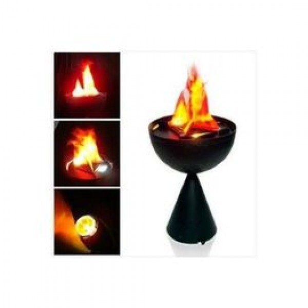 Lampa decorativa cu flacari