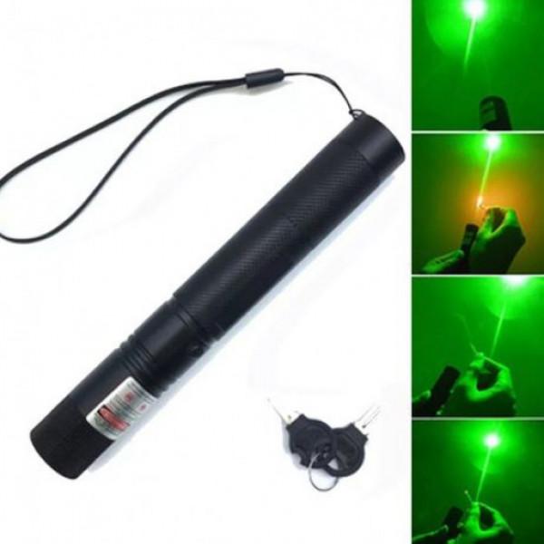 Laser pointer verde puternic cu acumulator