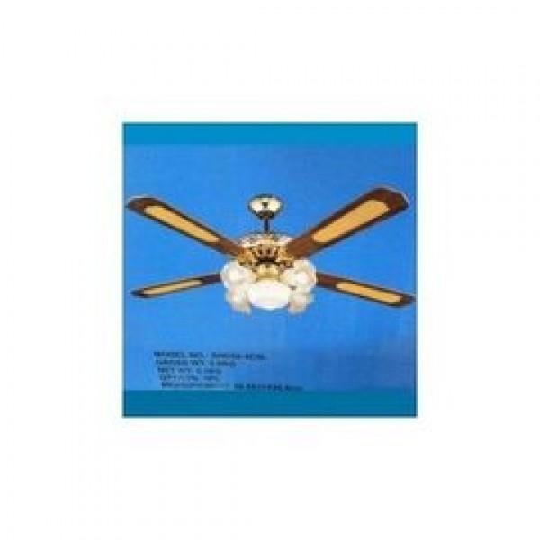 Lustra pentru interior cu 5 becuri si ventilator Majestic