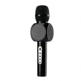 Microfon wireless cu bluetooth,acumulator incorporat si boxa