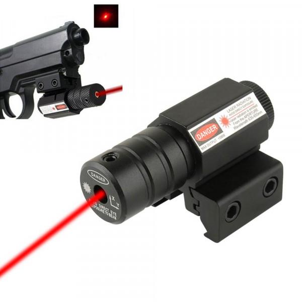 Laser pointer rosu pentru pusca