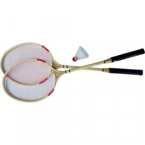 Racheta badminton din lemn