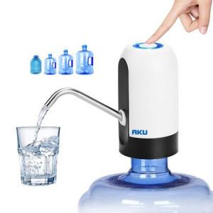 Pompa electrica pentru bidon de apa, incarcare USB