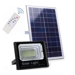 Proiector 50W cu panou solar si telecomanda cu functii multiple