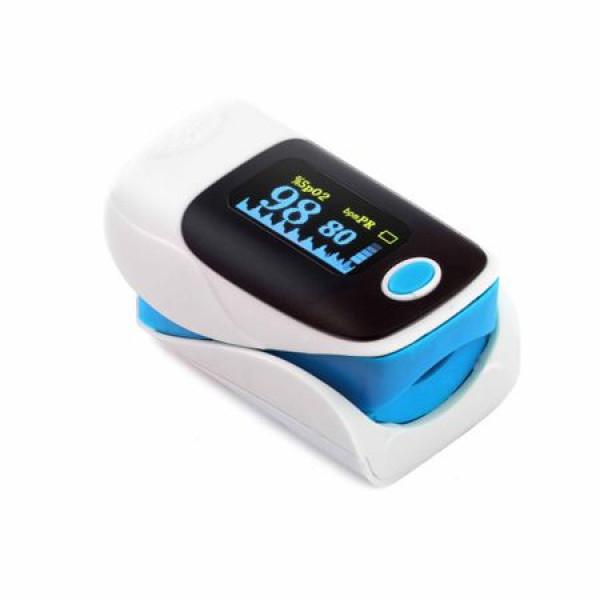 Puls-oximetru, ecran LED, puls 30-250, afisare SpO2