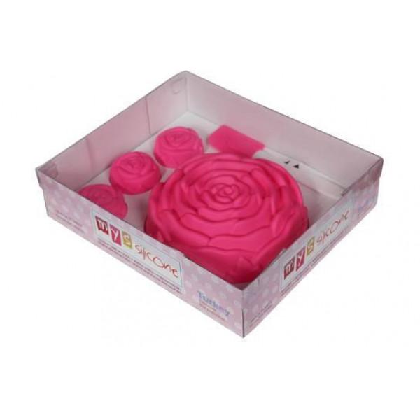 Set forma silicon trandafir MN873-004