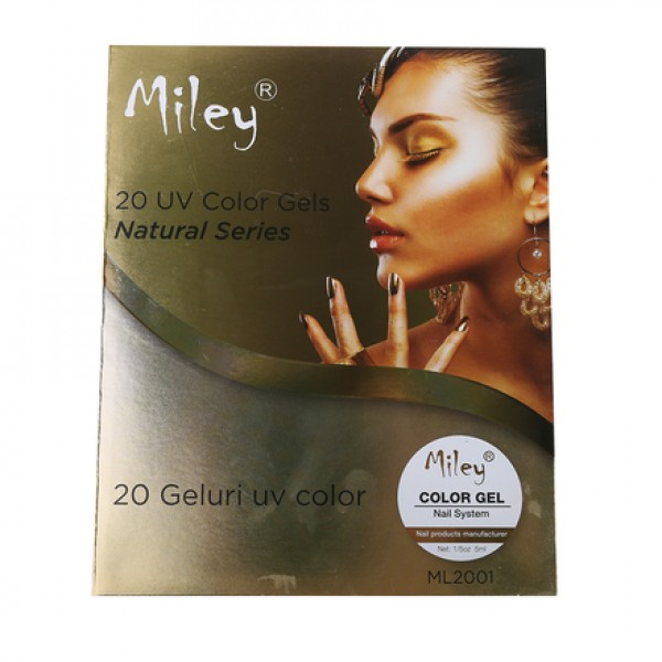 Set geluri  COLOR MILEY 20 Culori Natural Series