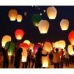 Set 10 Lampioane zburatoare multicolore