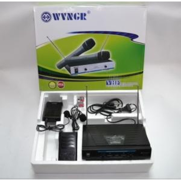 Set microfoane profesionale wireless WG-210